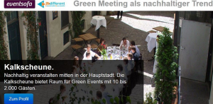 green meeting blog