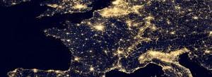 Europa Netzt Nacht Kalkscheune