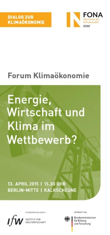 Forum Klimaöknomie