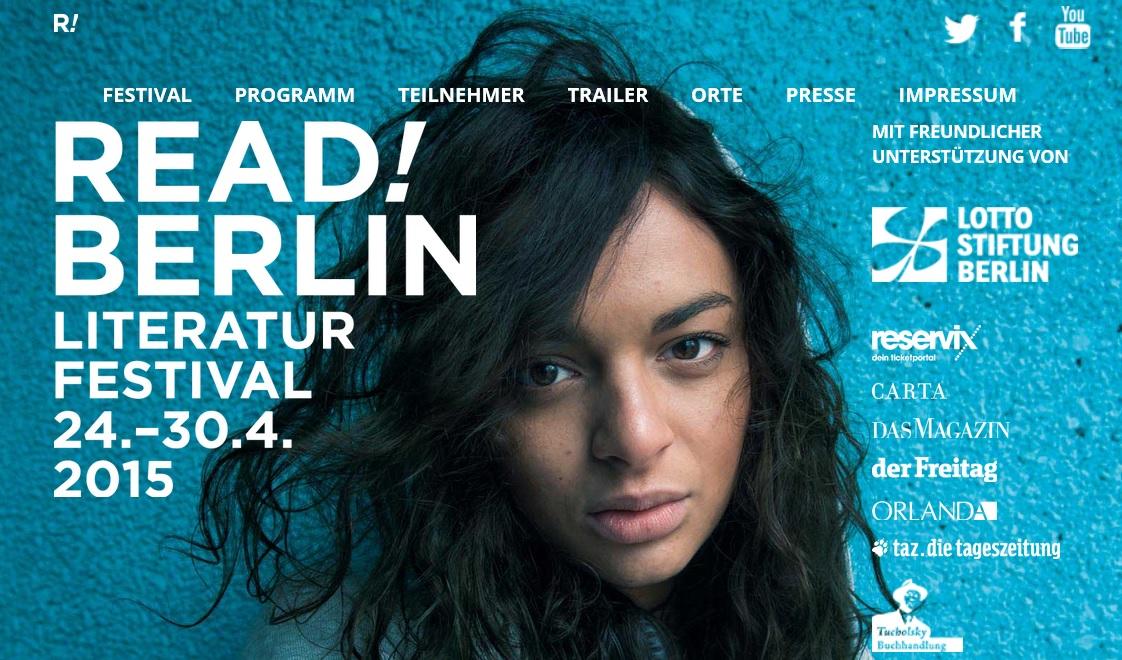 READ! BERLIN die Kalkscheune ist dabei