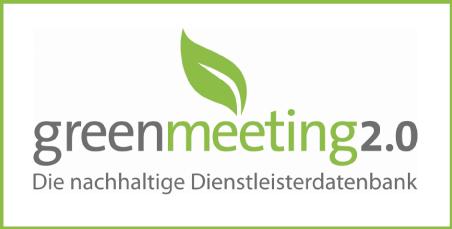 Wir sind Partner von green meeting 2.0!